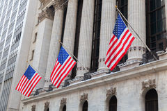 New York Stock Exchange in Manhattan, NYC Stock Photos