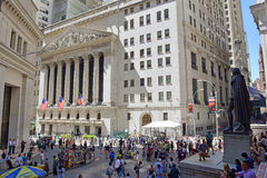 New York Stock Exchange, New York fotografia stock