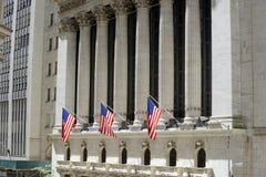 New York Stock Exchange, New York immagine stock libera da diritti