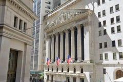 New York Stock Exchange, New York immagine stock