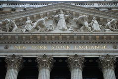 New York Stock Exchange, New York City Royalty Free Stock Photography
