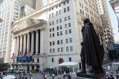 New York Stock Exchange. New York, NY: August 27, 2016: NYSE on Wall Street. The New York Stock Exchange NYSE is the largest stock exchange in the world by Stock Image
