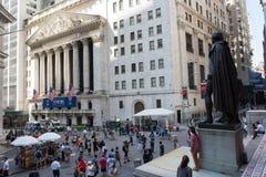 New York Stock Exchange. New York, NY: August 27, 2016: NYSE on Wall Street. The New York Stock Exchange NYSE is the largest stock exchange in the world by Stock Photos