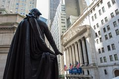 New York Stock Exchange. New York, NY: August 27, 2016: NYSE on Wall Street. The New York Stock Exchange NYSE is the largest stock exchange in the world by Stock Photo