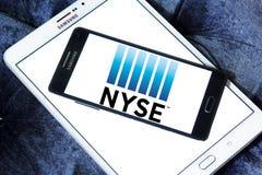 New York Stock Exchange NYSE logo Fotografering för Bildbyråer
