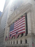 New York Stock Exchange (NYSE), New York. Royalty Free Stock Photos