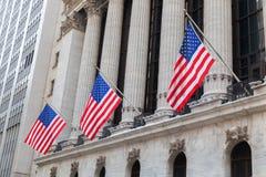 New York Stock Exchange w Manhattan, NYC Zdjęcia Stock