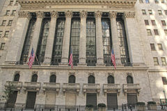 New York Stock Exchange, Wall St., NYC Stock Photos