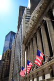 New York Stock Exchange Wall Street Stock Foto's