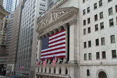 New York Stock Exchange, Wall Street Royalty Free Stock Photography