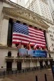 New York Stock Exchange on Wall Street Stock Photos