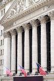 The New York Stock Exchange at Wall Street in New York Royalty Free Stock Image