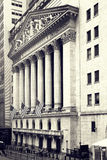 The New York Stock Exchange on Wall Street in New York Royalty Free Stock Images