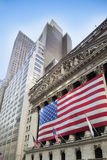 New York Stock Exchange, Wall Street , NYC Royalty Free Stock Photos