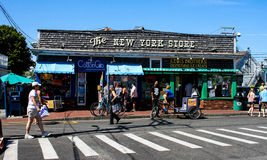 The New York Store, Commercial Street, Provincetown, MA. Royalty Free Stock Images