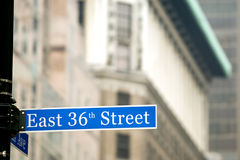 New York street Royalty Free Stock Image