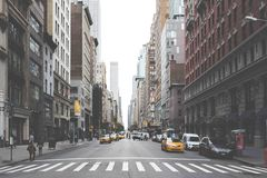 New York street Royalty Free Stock Photos