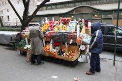 New York street cart Stock Photography