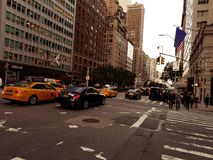 New York Street Scence Stock Photography