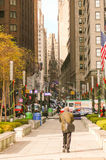 New York Street Scene. Taken Early December Royalty Free Stock Photography