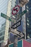 New York - Street Sign. Street Sign in New York City Royalty Free Stock Photography