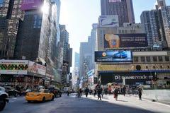 New york street stock image