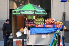 New York Street Vendor Stock Photography