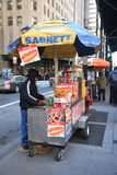 New York Street Vendor Royalty Free Stock Images