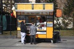 New York Street Vendor Stock Image