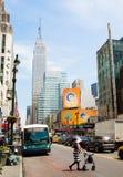 New York street Royalty Free Stock Photo
