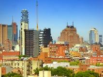 New York buildings Stock Photos
