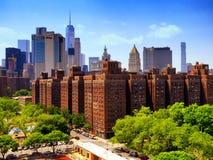 New York street views Royalty Free Stock Photos