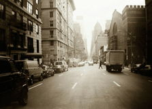 New york streets royalty free stock image