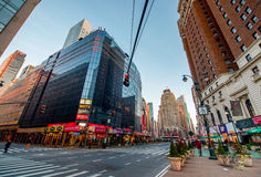 New York streets. Royalty Free Stock Photos