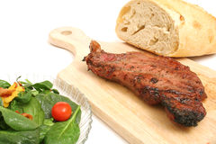 New york strip steak  Stock Photography