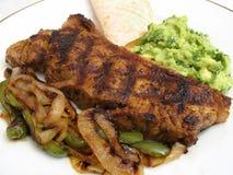 New York Strip Steak Dinner Stock Image