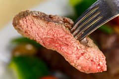 New York Strip Steak with Vegetables Royalty Free Stock Photography