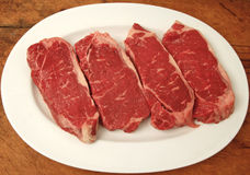 New York strips Royalty Free Stock Photo
