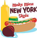 New York Style Royalty Free Stock Photo