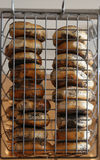 New York style poppy seeds bagels Royalty Free Stock Photos