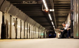 New York Subway Stock Images