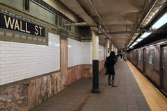 New York Subway Station Stock Photography