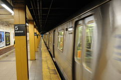 New York subway Royalty Free Stock Image