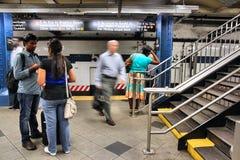 New York Subway Stock Photography