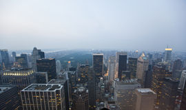 New York , sunset Stock Photography