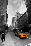 New York taxar Arkivbilder