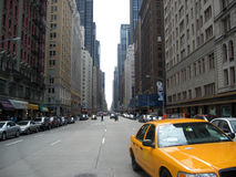 New York : Taxi Photographie stock