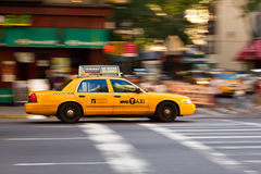New York Taxi Stock Photos