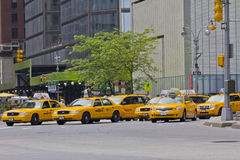 New york Taxi Royalty Free Stock Image