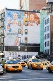 New York taxi Fotografering för Bildbyråer